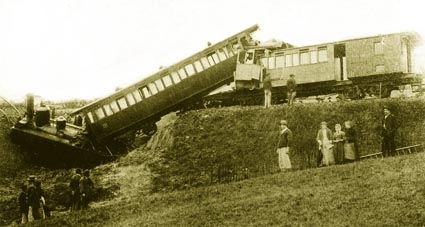 Accident train
